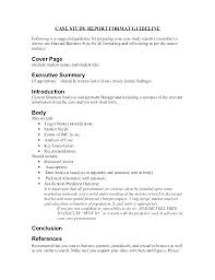 Short Business Report Sample How Business Reports Examples Valuation Case Study Sample