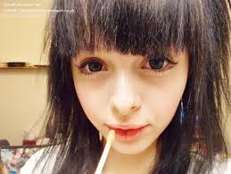 lively cute 얼짱 ulzzang makeup tutorial caucasian eyes photo heavy