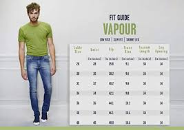 Pepe Jeans Casual Shirt Size Chart Pepe Jeans Mens Vapour Pm201727g214 Slim Fit Stretchable Jeans