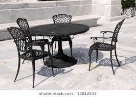 rot iron furniture. Marble Patio With Wrought Iron Furniture, Columbus, Ohio Rot Furniture
