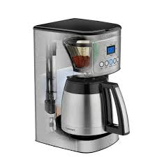 It's sure to offer a remarkable point for your countertop. Cuisinart 12 Cup Programmable Silver Coffee Maker With Built In Timer Dcc 3400 The Home Depot