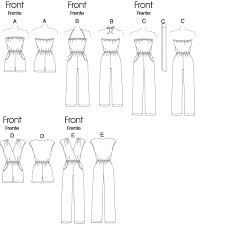 Women's Romper Pattern Fascinating M48 Misses' Jumpsuits Rompers And Sash Sewing Pattern