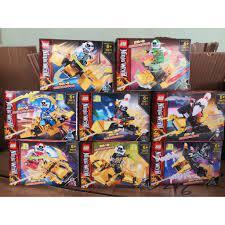 Đồ chơi lắp ráp Lego Ninjago Season phần 12 Xếp Mô Hình Ninja Rồng Vàng  Minifigures 818 98079 trọn bộ 8 hộp