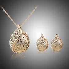 women s crystal jewelry set stud