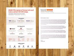 Free Visual Resume Cv Psd Ai Template Free Download