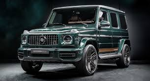 This car is fitted with 22 inch matt black amg styling rims. What Do You Think Of This Custom Made Mercedes Benz G Class Racing Green Edition Carscoops