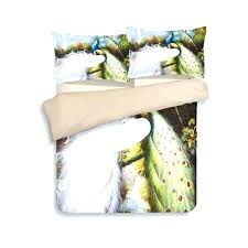 peafowl bird printed comforter bedding sets twin full queen king size duvet cover 3pc girl bird