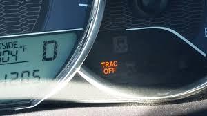 2013 Toyota Corolla Check Engine Light Trac Off Toyota Corolla Recall Le 2014 Trac Off Youtube