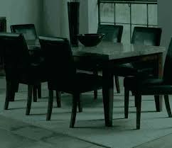granite top dining table set black kitchen round