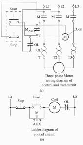 three wire diagram three wire control circuit
