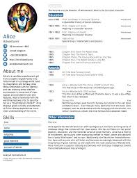 Latex Resume Extraordinary Tabular Resume Free Latex Cv Template Table Cv In Tabular Form 60
