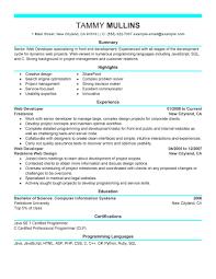 modern technical resume