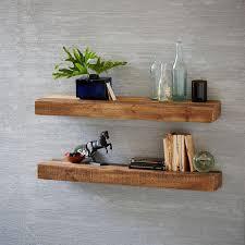 best rustic shelves reclaimed wood floating shelf