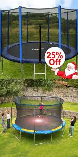 Bounce Pro 12 Trampoline With Flash Light Zone And Enclosure Pin On Kids Trampoline
