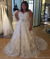 Plus Size Sweetheart Wedding Dresses