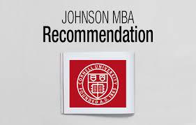 johnson mba recommendation acirc fxmbaconsulting