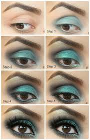 mint eye makeup