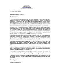 Sample Resume English Teacher Japan New English Teacher Cover Letter