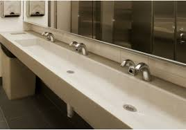 public bathroom sink. Public Bathroom Sink » Comfy Concrete Sinks For The Restaurant And  Restrooms By Sonoma Public Bathroom Sink R