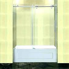 bathtub door installation bathtub shower door installation cost