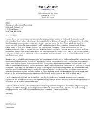 Sample Attorney Cover Letters Senior Cover Letter Law