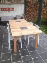Wood Pallet Table Top Several Pallet Tables Done In Different Styles O Pallet Ideas