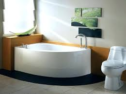 soaking tub with shower gorgeous small freestanding tubs combo incredible bathtubs idea by marmorin