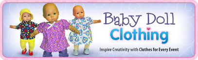 Baby Doll Clothes | DollClothesSuperstore.com