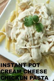 instant pot cream cheese en pasta