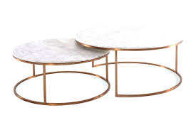 white marble coffee table round nest tables top uk
