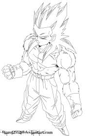 Small Picture Coloring Download Goku Super Saiyan 5 Coloring Pages Goku Super
