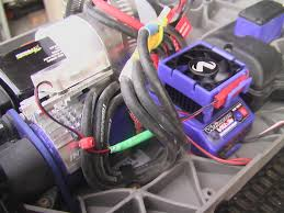 esc fan and motor fan question i wired mine together and they both run just fine plenty of power for both of them too here s a pic