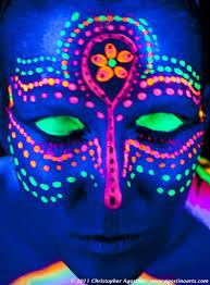 black light party makeup s djs durban pinteres