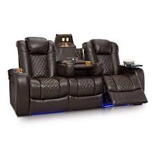 seatcraft theater seating. Perfect Seating Seatcraft Anthem Home Theater Seating Leather Multimedia Power Recline Sofa  With FoldDown Table With B