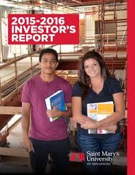 2015-2016 Investor's Report by Saint Mary's University - issuu
