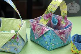 DIY Fabric Easter Basket- Video Tutorial - Crafty Gemini & easter-Basket_tutorial3 Adamdwight.com