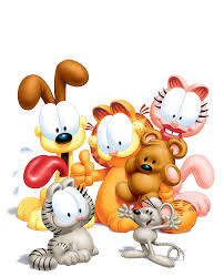 garfield s birthday is june 19th 1978 and for his birthday he really wants a cat scratcher