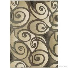 brown swirl rug evolution swirl brown area rug rugs char