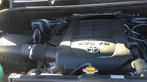 2015 Toyota Tundra SR5 TRD 4X4 Engine Bay - YouTube