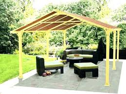 outdoor canopies gazebo curtains home depot gazebos and at menards