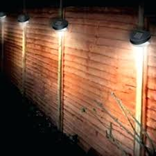 outdoor fence lights solar light for post on fast delivery com powered