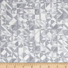108 In. Quilt Wide Back Prisms Grey/White - Discount Designer ... & 108 In. Quilt Wide Back Prisms Grey/White - Discount Designer Fabric -  Fabric.com Adamdwight.com