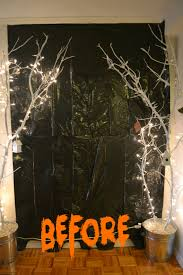 Diy Clever Halloween Party Decorating Tips Haunted House Idea Tutorials E2  Wall Decor I Then Got ...
