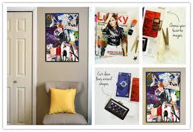 make diy collage wall art