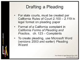 2011 California Conference On Self Represented Litigants Ppt Video