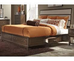 charlton queen storage bed  decorium furniture