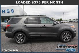 Used Ford Explorer For Sale Greenville Nc