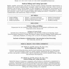Sample Resume Format For Medical Biller Medical Assistant Best Of ...