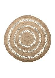 round woven rug woven jute circular round rug with detailing round woven rugs australia