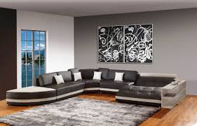 Grey Wall Paint Ideas Surprising 16 Accent Living Room Decorating Decor Gs  S. « »